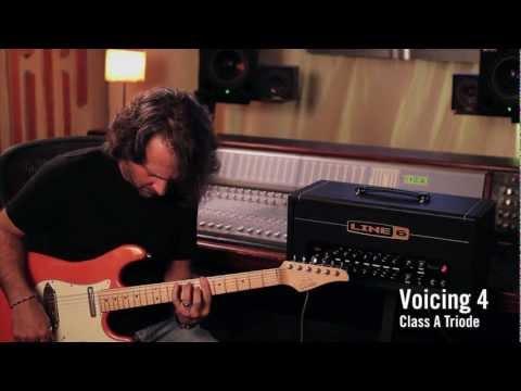 DT25 Guitar Amplifier - Voicing 4 Demo   Line 6