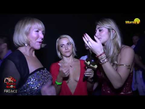 Drinkhouse Fire and Ice - Jenny Scordamaglia @ Miami's First Ice Bar - Miami TV