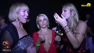 Repeat youtube video Jenny Scordamaglia @ Miami's First Ice Bar - Drinkhouse Fire and Ice - Miami TV