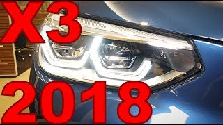 Новый BMW X3 2017 G01 - ЦЕНА от 2 950 000р