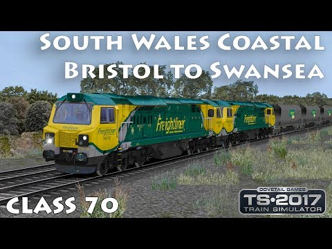 South Wales Coastal - Bristol to Swansea | Class 70 Margam T.C. - Llanwern Echange ► Train Simulator