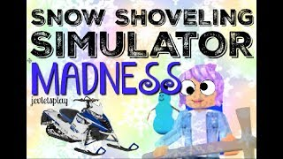 Snow Shoveling Simulator EPICNESS - Roblox
