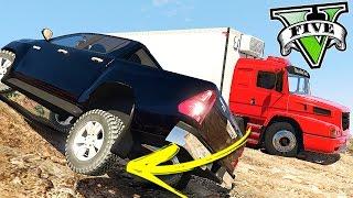 GTA V Trabalhos - Hilux Buscando Caminhão