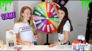 MYSTERY WHEEL OF SLIME CHALLENGE! | SLIME SWITCH UP CHALLENGE!