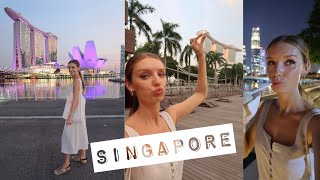 TOP THINGS TO DO IN SINGAPORE IN ONE DAY. LIFE OF A FLIGHT ATTENDANT FROM DUBAI