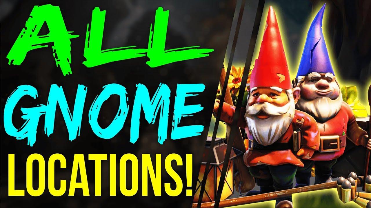 gnome locations in fortnite