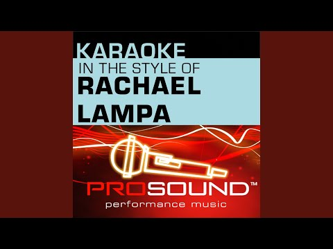 No Greater Love (Karaoke Instrumental Track) (In The Style Of Rachael Lampa)