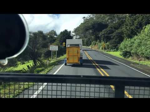 Trucking from Auckland to Upnorth, NZ