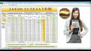 Два Калькулятора 1-9-90 расчета стратегий Биткоин и Евро матриц + ВЕЧНЫЙ календарь времени!