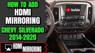 Silverado Screen Mirroring - How To Add HDMI Smartphone Screen Mirroring Chevy Silverado 2014-2020
