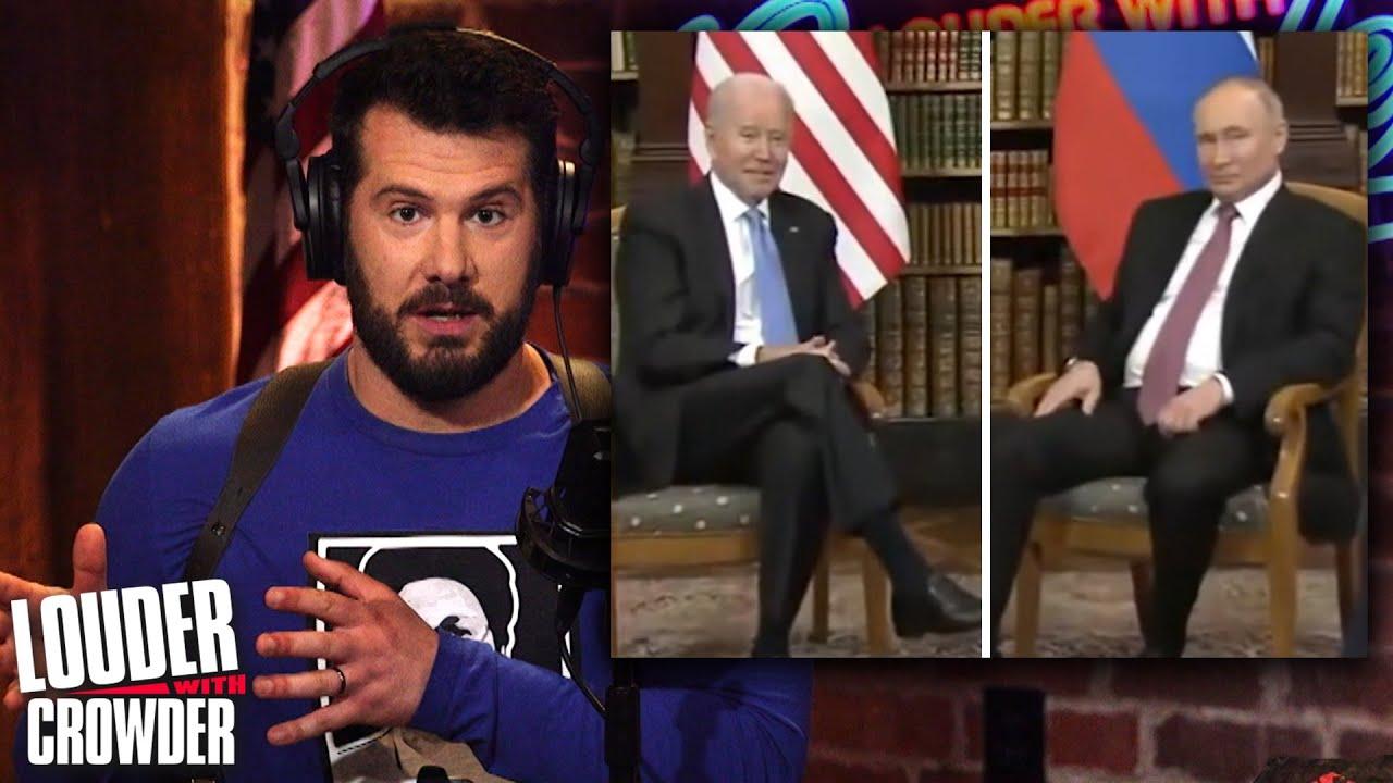 BIDEN-PUTIN SHOWDOWN: How Will Biden Compare to Trump?! | Louder With Crowder