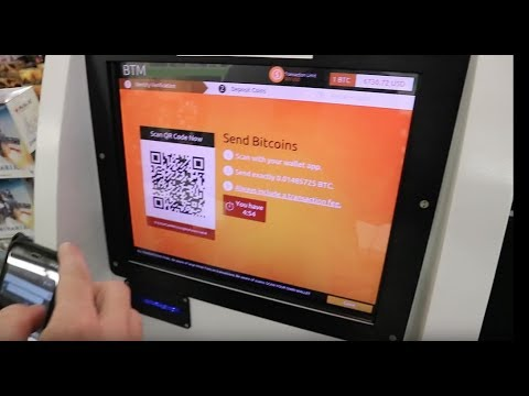 BTC To $USD With A Bitcoin ATM