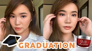 HULAS PROOF GRADUATION MAKEUP LOOK! Philippines 2019 Toni Sia