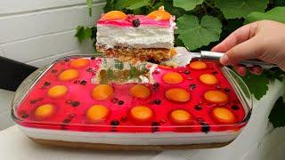 Это ВОСТОРГ Летний торт с фруктами и желе