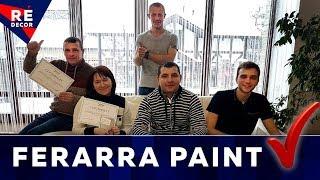 Обучение мастеров в мастерской FERRARA PAINT.