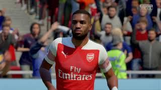 FIFA19 | Arsenal vs Valencia | PS4 Pro 4K UHD
