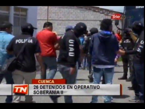 29 detenidos en operativo Soberanía II