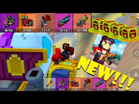 Pixel Gun 3D - Battle Royale NEW GUNS! WEAPONS! *Сooler than Fortnite*