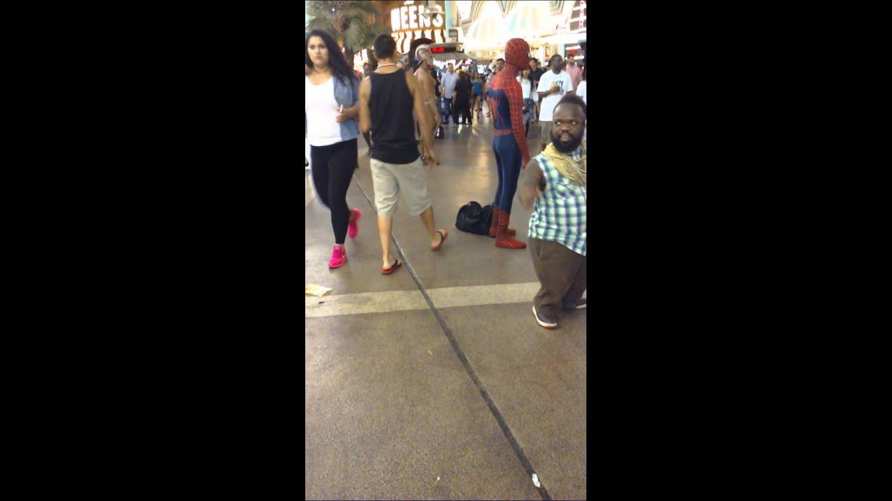 Spider man ass slap