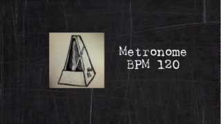 Metronome 120bpm (Tempo) 4/4 for practicing music! about 30 min