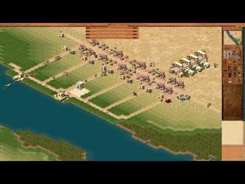 Фараон и Клеопатра. Прохождение миссии - Мемфис. Столица основана.