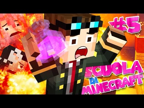 HO DISTRUTTO LA SCUOLA! - Scuola di Minecraft - Ep. 5