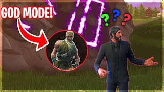 New God Mode glitch trolling in fortnite...