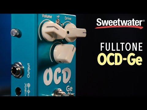Fulltone OCD-Ge Germanium Obsessive Compulsive Drive Pedal Demo
