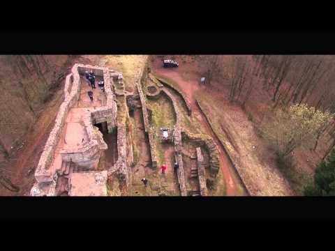 UAV- / drone-based surveying & inspection of a ruin castle