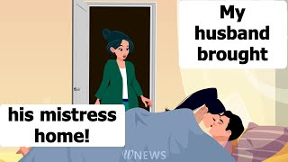 A sad story: A husband was posing his mistress as his daughter