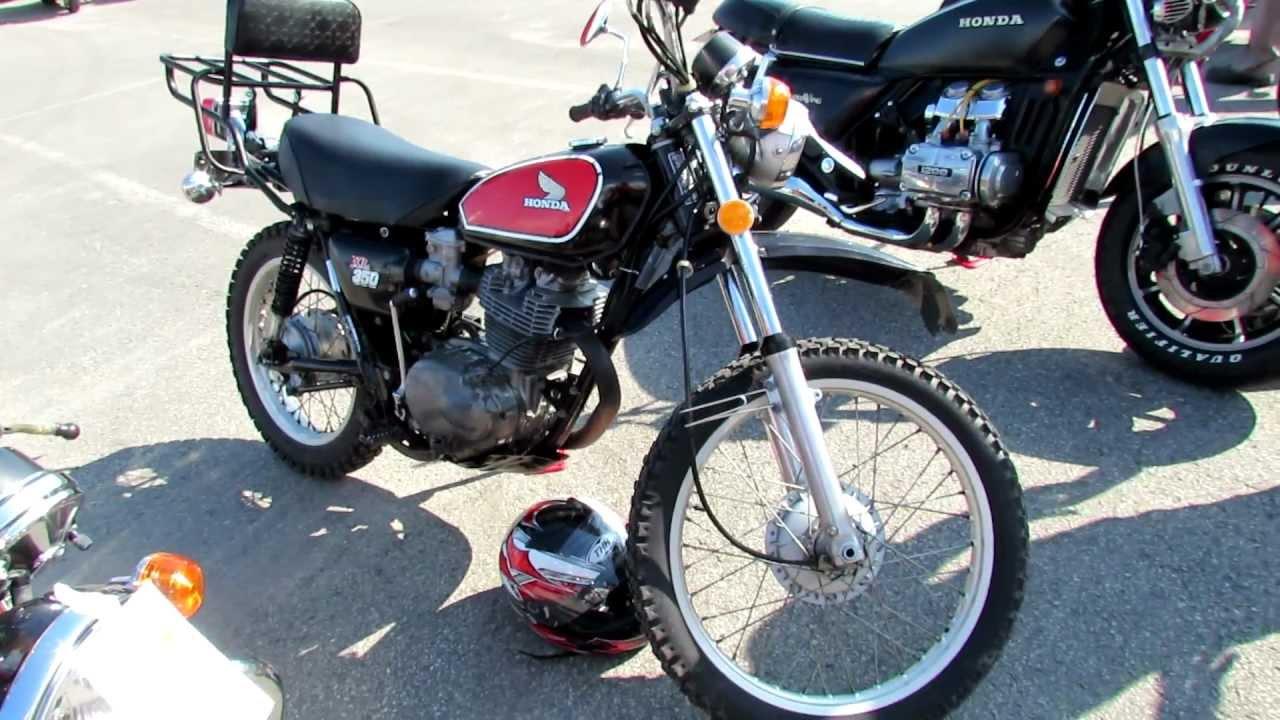 Honda St Eustache >> 1975 Honda XL350 - Classic Bikes Exposition - Centre Hamel Honda - St-Eustache, QC, Canada - YouTube