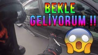 Türkiye'de Yaşanan Motosiklet Kazaları, Sinirli ve Çılgın İnsanlar, Motorcu Kavgaları, Ayna Kırma #3