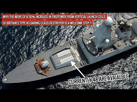 Britain's #Type45 #DaringClass #Destroyer will see addition of 24 Vertical Launch System cells !