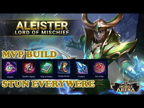 Aleister Game Play Best Build Aov Mobile Arena Of Valor