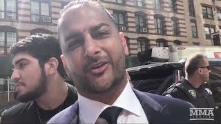 Conor McGregor's Manager Audie Attar Discusses McGregor's UFC Future - MMA Fighting