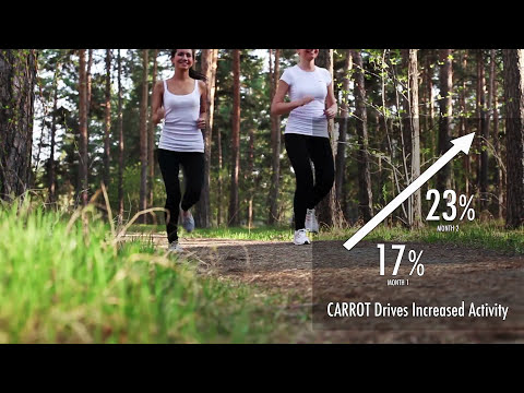 How CARROT Wellness gamified health and wellness for walking and meeting personal goals