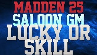 MADDEN 25 MONEY GAME - $35 - FUMBLE AT THE 1 - LUCK OR SKILL