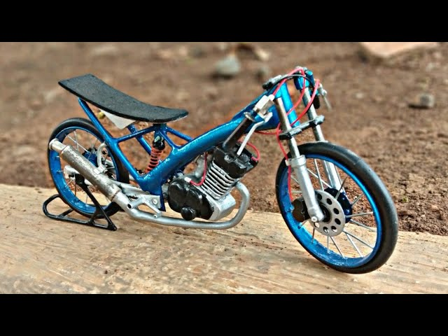 Bahan-bahan yang digunakan untuk membuat miniatur motor drag