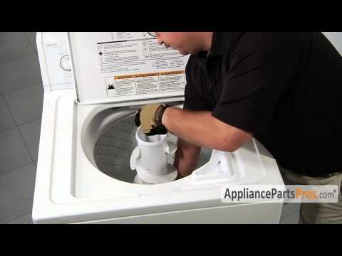 Washer Filter Plug Kit (part #285868) - How To Replace