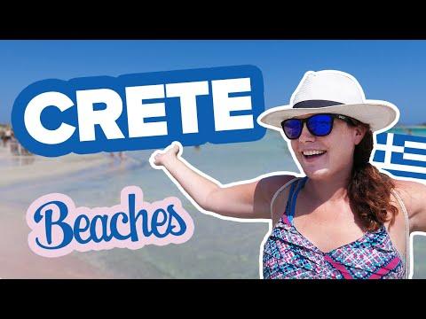 CRETE BEACHES. Elafonisi + Matala. It's A Dreamland! Best Beaches In Crete, Greece.