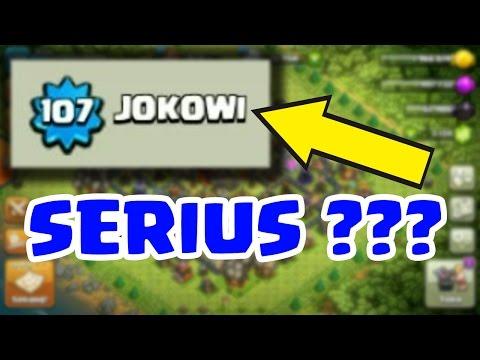 Pak Jokowi Main COC ??? Ini hanya Pengagum Beliau - COC Indonesia