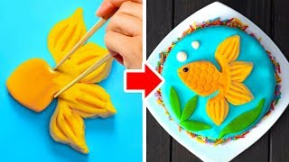 33 CUTE IDEAS FOR CAKE DECORATION
