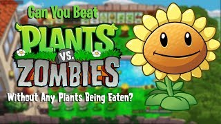Can You Beat Plants vs Zombies Without Any Plants Being Eaten?