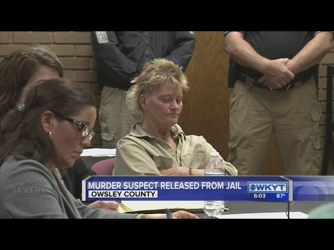 Owsley Co. woman charged in murder of parents released from jail