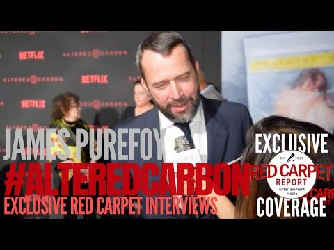 James Purefoy ed at Premiere of Netflix's AlteredCarbon NowStreaming AltCarb
