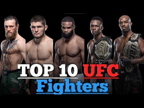 TOP 10 UFC Fighters Ranking 2020