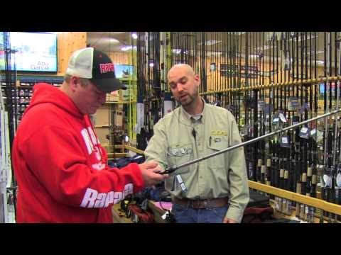 The Rods: Cabela's Shopping Trip For The Scatter Rap Challenge
