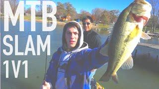 1v1 Bass Tournament ft. 1Rod1ReelFishing -- MTB Slam Edition