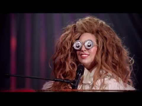 Elton John and Lady Gaga :: Benny and The Jets ::  @ Lady Gaga & the Muppets