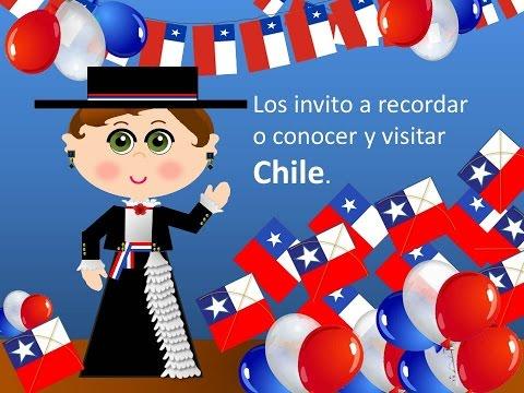 CHILE - FIESTAS PATRIAS  - COCINA CHILENA - VIDEOS PARA NIÑOS - QUE BONITA ES MI TIERRA